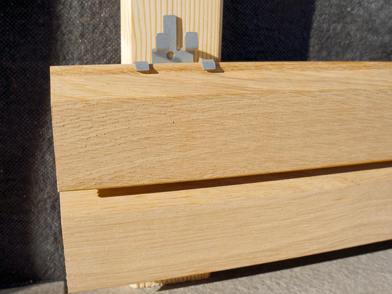 Wybitny Deska elewacyjna Modrzew Syberyjski Profil ROMB TIGA ○ Dombal EU39